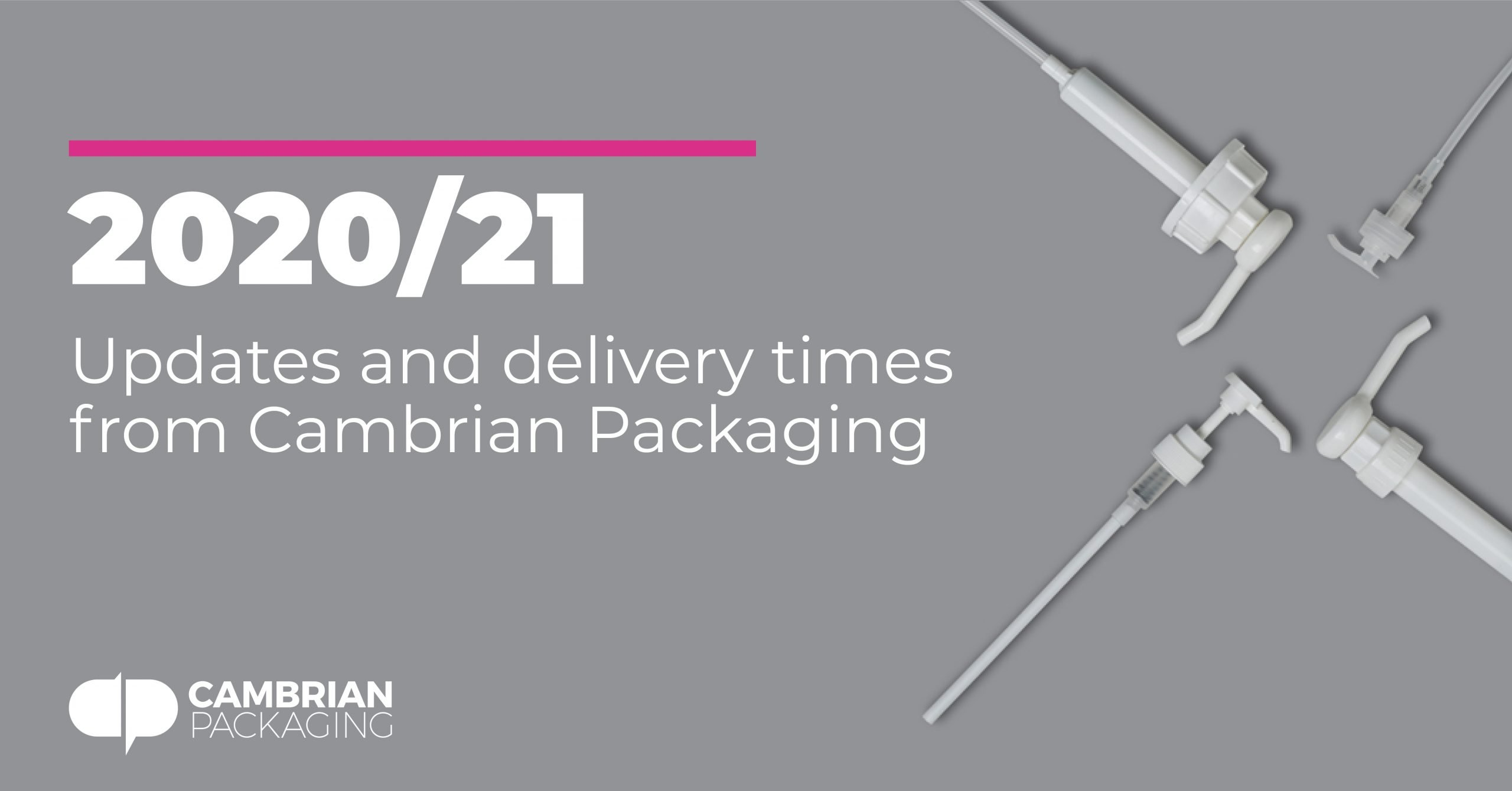 Cambrian Packaging 2020 updates