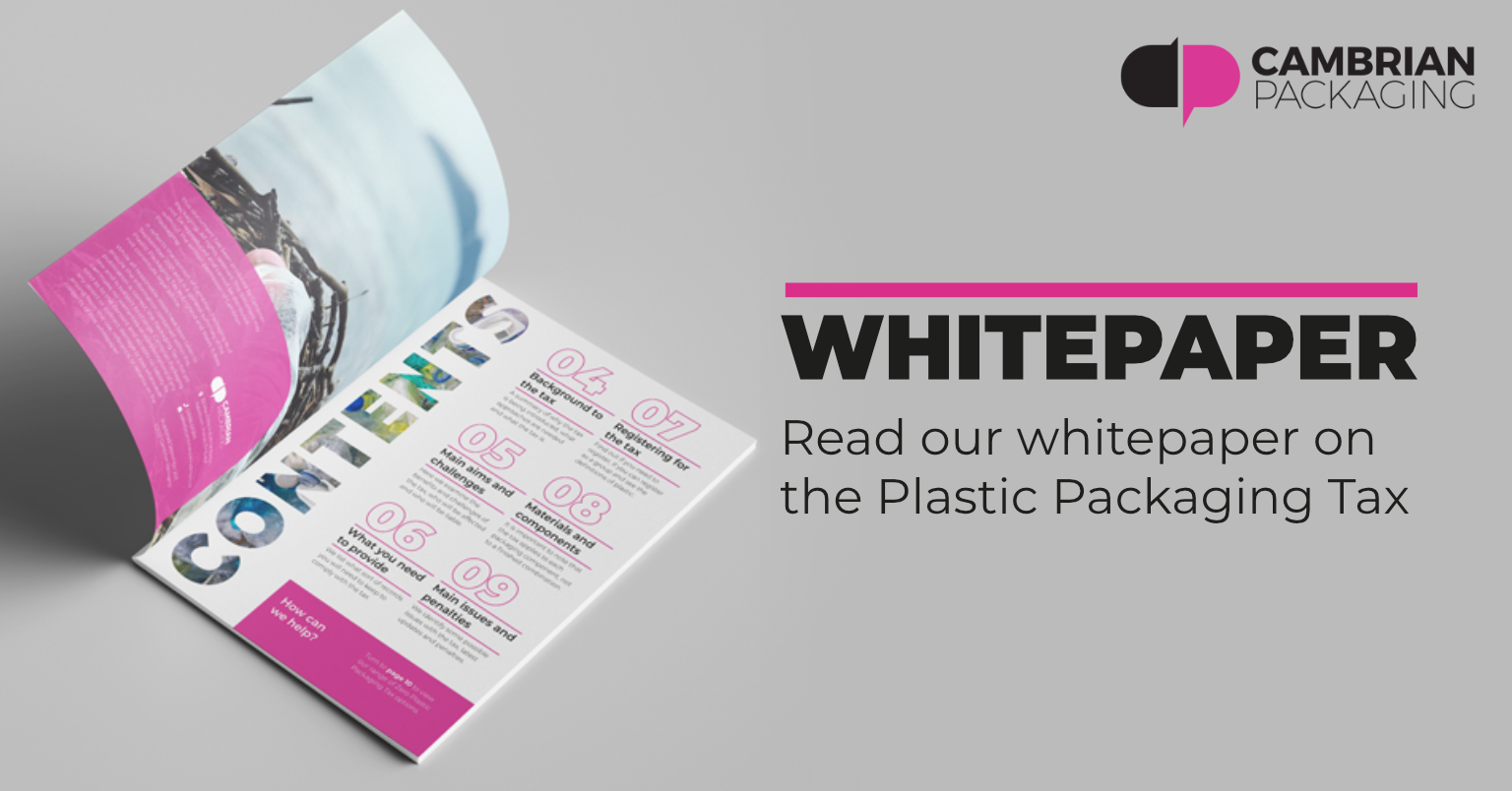 Plastic Packaging Tax whitepaper cambrian blog
