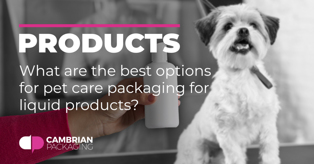 pet care products blog